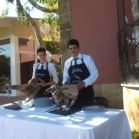 Cortadores de Jamón en Palacio Carrascalino