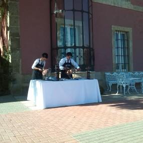 Cortadores de Jamón López Garabaya en Palacio Carrascalino