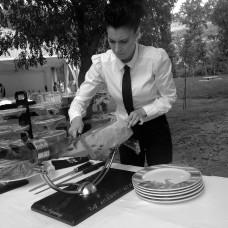 Cortadores de jamón López Garabaya bodas