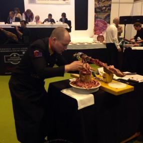 Salón Gourmet concurso Cortadores de Jamón