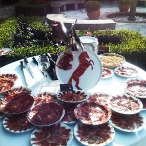 Cortadores de Jamón: mesa bodas y eventos